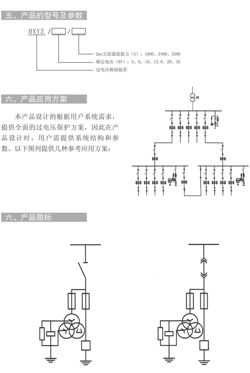 hxyz过电压抑制装置(配电聚优柜)